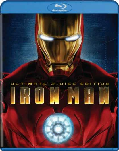 Bestselling Movies (2008) - Iron Man (Ultimate Two-Disc Edition + BD Live) [Blu-ray]