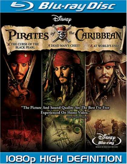 Bestselling Movies (2008) - Pirates of the Caribbean Trilogy [Blu-ray]
