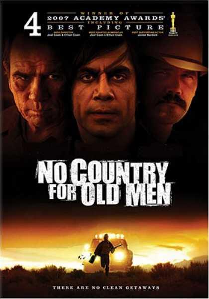 Bestselling Movies (2008) - No Country for Old Men by Ethan Coen