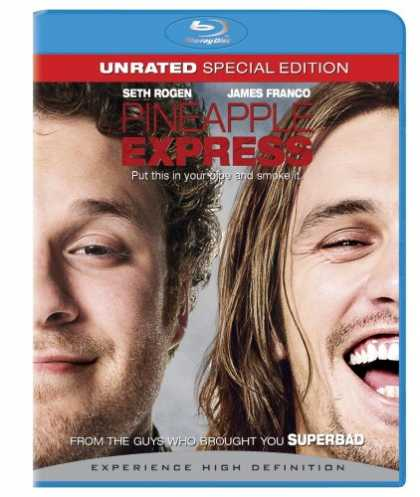 Bestselling Movies (2008) - Pineapple Express (Unrated + BD Live) [Blu-ray] by David Gordon Green