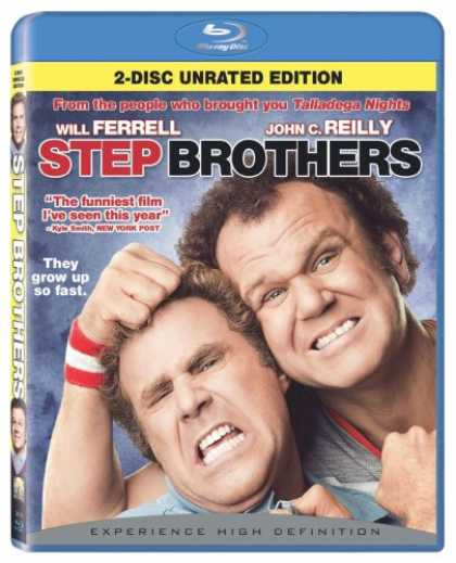Bestselling Movies (2008) - Step Brothers (+ BD Live) [Blu-ray] by Adam McKay