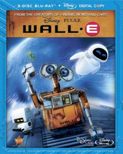 Bestselling Movies (2008) - Wall-E (Three-Disc Special Edition + Digital Copy and BD Live) [Blu-ray] by Andr