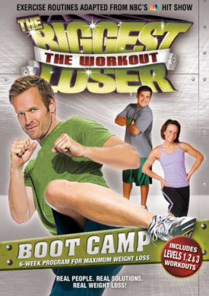 Bestselling Movies (2008) - The Biggest Loser: The Workout - Boot Camp by Cal Pozo