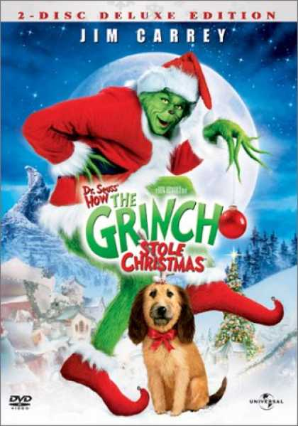 Bestselling Movies (2008) - Dr. Seuss' How The Grinch Stole Christmas (Deluxe Edition)