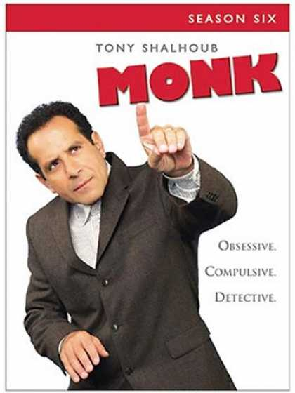 Bestselling Movies (2008) - Monk - Season Six