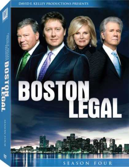 Bestselling Movies (2008) - Boston Legal: Season Four