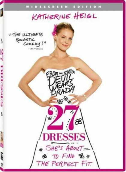 Bestselling Movies (2008) - 27 Dresses (Widescreen Edition) by Anne Fletcher