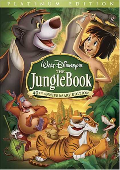 Bestselling Movies (2008) - The Jungle Book (40th Anniversary Platinum Edition) by Wolfgang Reitherman