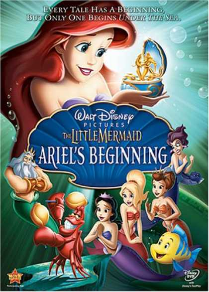 Bestselling Movies (2008) - The Little Mermaid - Ariel's Beginning by Peggy Holmes