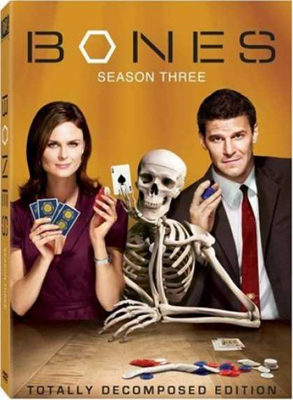 Bestselling Movies (2008) - Bones - Season 3
