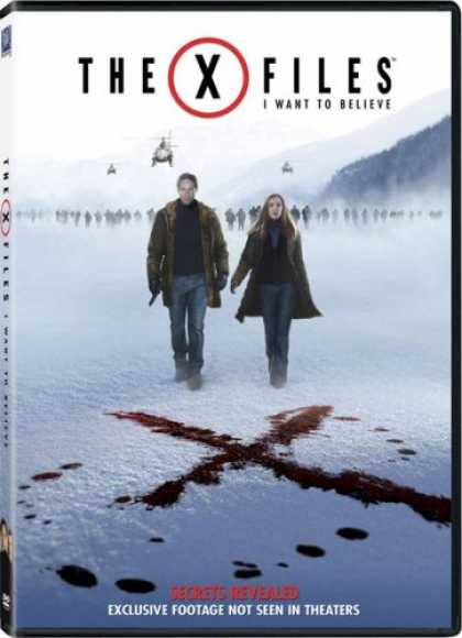 Bestselling Movies (2008) - The X-Files: I Want to Believe (Single-Disc Edition)