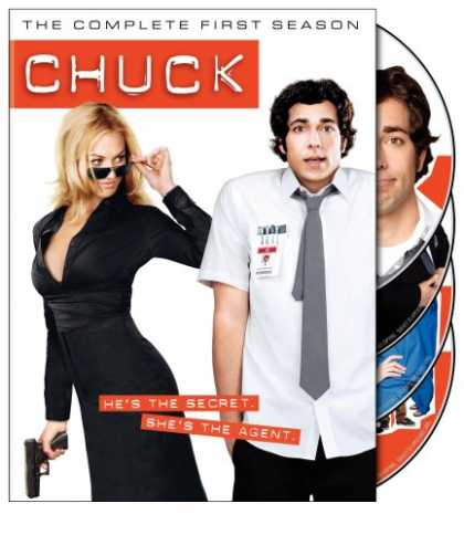 Bestselling Movies (2008) - Chuck - The Complete First Season