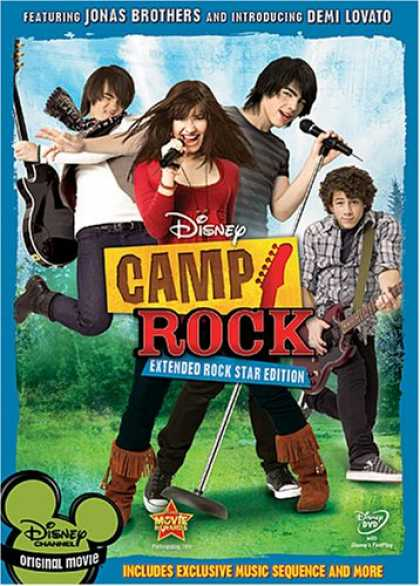 Bestselling Movies (2008) - Camp Rock (Extended Rock Star Edition) by Matthew Diamond