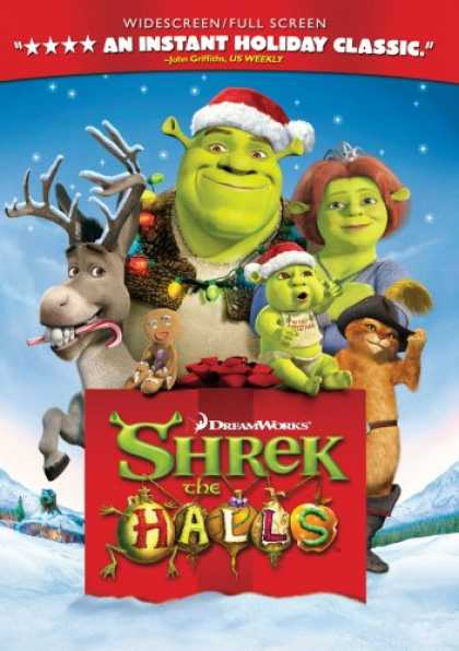 Bestselling Movies (2008) - Shrek the Halls (Widescreen / Fullscreen Edition) by Gary Trousdale