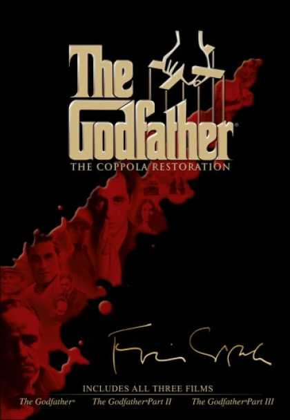 Bestselling Movies (2008) - The Godfather - The Coppola Restoration Giftset DVD