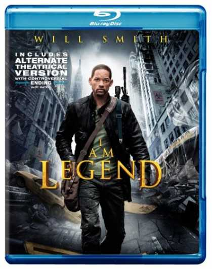 Bestselling Movies (2008) - I Am Legend [Blu-ray]