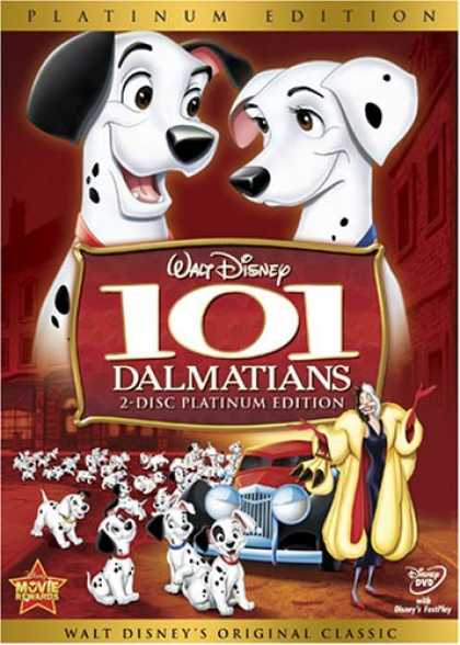 Bestselling Movies (2008) - 101 Dalmatians (Two-Disc Platinum Edition) by Wolfgang Reitherman