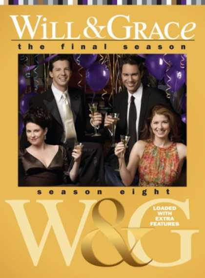 Bestselling Movies (2008) - Will & Grace: Season Eight