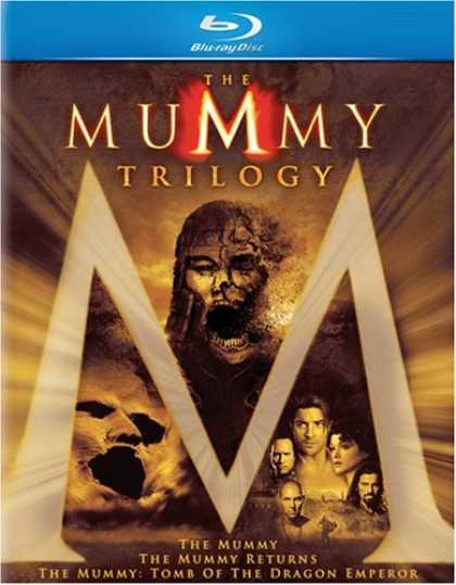 Bestselling Movies (2008) - Mummy Trilogy (The Mummy | The Mummy Returns | The Mummy: Tomb of the Dragon Emp