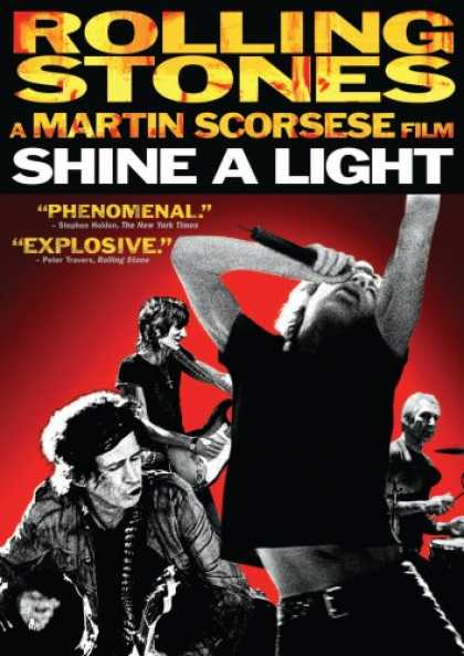 Bestselling Movies (2008) - Shine a Light by Martin Scorsese
