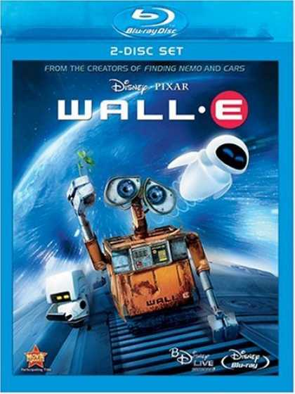 Bestselling Movies (2008) - Wall-E (Two-Disc and BD Live) [Blu-ray] by Andrew Stanton