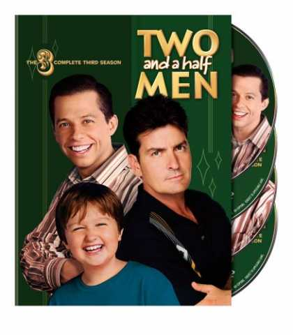 Bestselling Movies (2008) - Two and a Half Men - The Complete Third Season