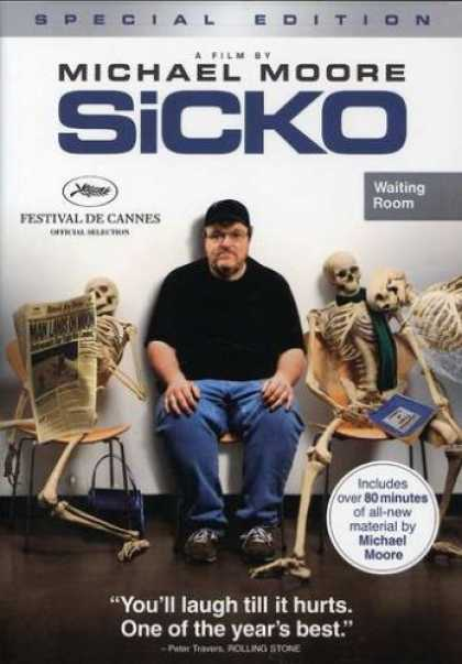Bestselling Movies (2008) - Sicko (Special Edition) by Michael Moore