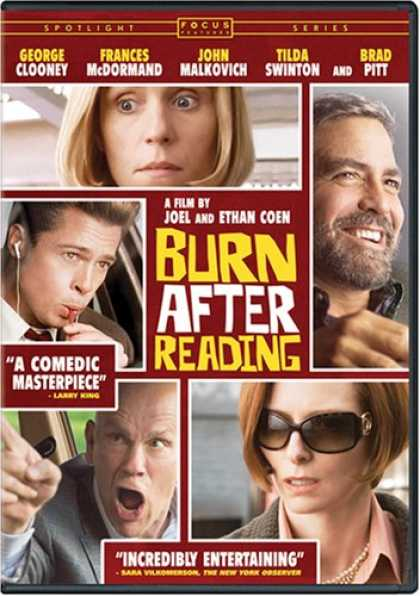 Bestselling Movies (2008) - Burn After Reading