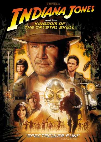 Bestselling Movies (2008) - Indiana Jones and the Kingdom of the Crystal Skull (Single Disc) by Steven Spiel