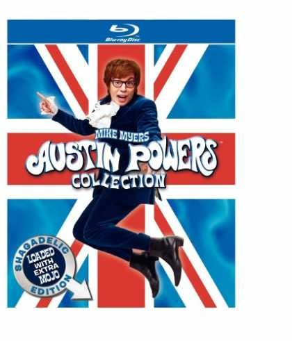 Bestselling Movies (2008) - Austin Powers Collection: Shagadelic Edition Loaded With Extra Mojo (BD) [Blu-ra
