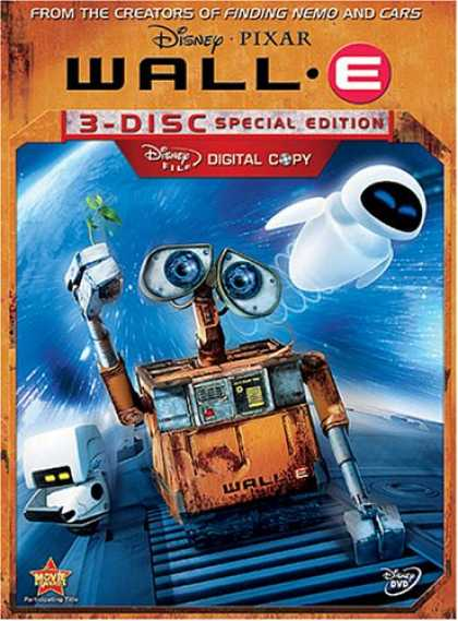 Bestselling Movies (2008) - Wall-E (Three-Disc Special Edition + Digital Copy) by Andrew Stanton