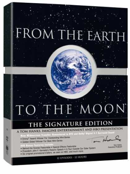 Bestselling Movies (2008) - From the Earth to the Moon - The Signature Edition by David Carson