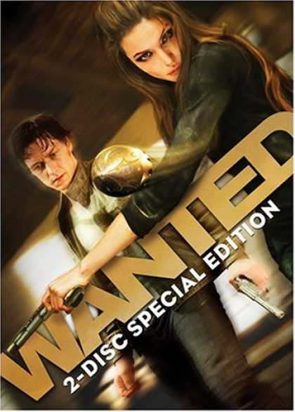 Bestselling Movies (2008) - Wanted (Two-Disc Special Edition)