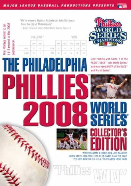 Bestselling Movies (2008) - The Philadelphia Phillies 2008 World Series Collector's Edition