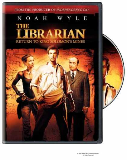 Bestselling Movies (2008) - The Librarian - Return to King Solomon's Mines by Jonathan Frakes