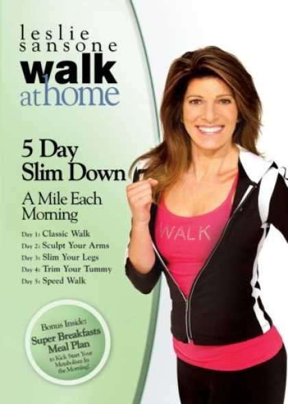 Bestselling Movies (2008) - Leslie Sansone: 5 Day Slim Down by Leslie Sansone