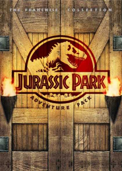 Bestselling Movies (2008) - Jurassic Park Adventure Pack (Jurassic Park/ The Lost World: Jurassic Park/ Jura