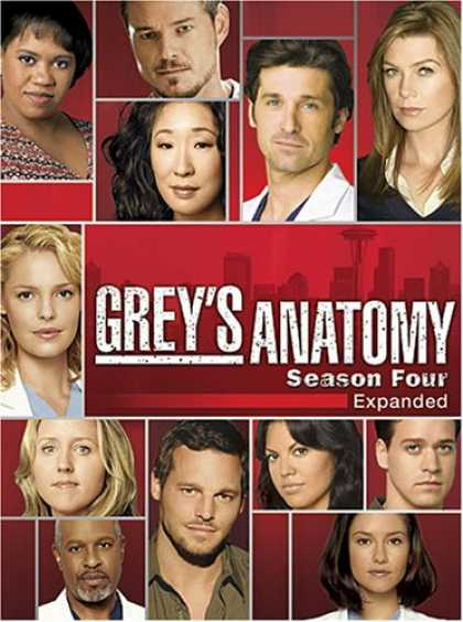 Bestselling Movies (2008) - Grey's Anatomy: The Complete Fourth Season