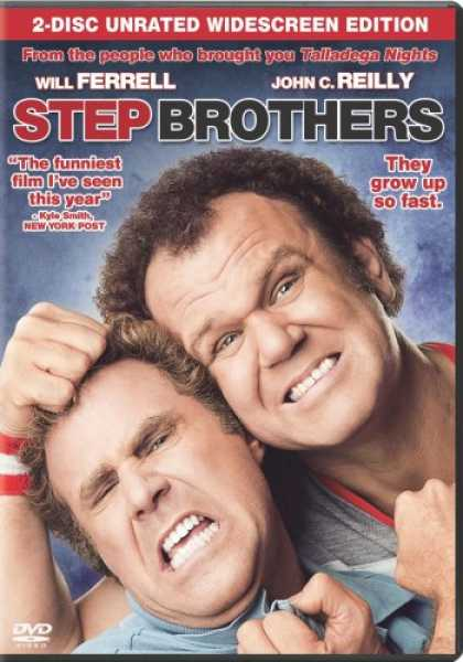 Bestselling Movies (2008) - Step Brothers (Two-Disc Unrated Edition + Digital Copy)