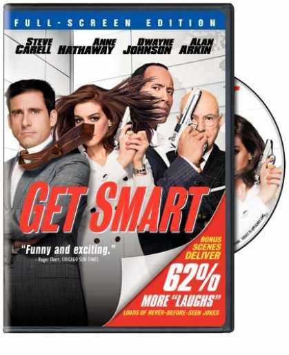 Bestselling Movies (2008) - Get Smart (Single-Disc Fullscreen Edition)