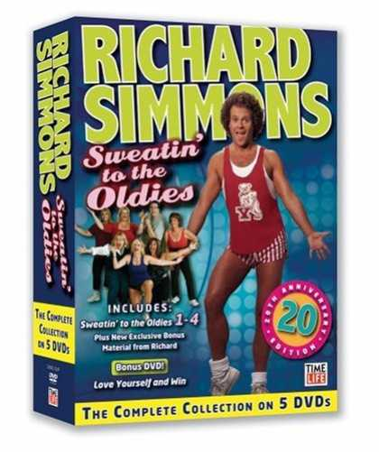 Bestselling Movies (2008) - The Complete Collection of Sweatin' to the Oldies by E.H. Shipley