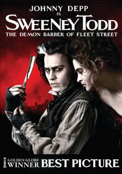 Bestselling Movies (2008) - Sweeney Todd - The Demon Barber of Fleet Street by Tim Burton
