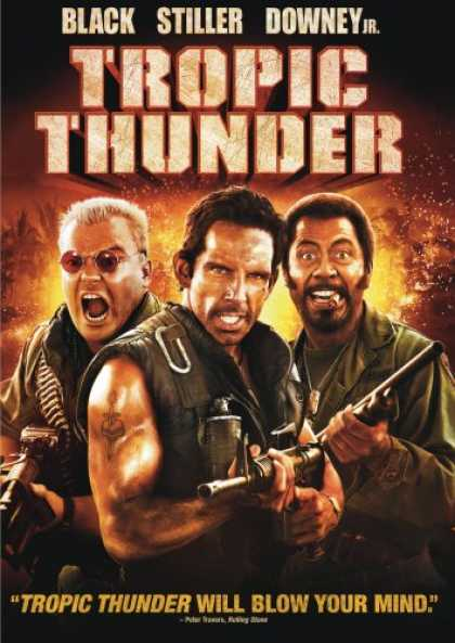 Bestselling Movies (2008) - Tropic Thunder by Ben Stiller