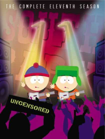 Bestselling Movies (2008) - South Park: The Complete Eleventh Season by Trey Parker