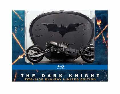 Bestselling Movies (2008) - The Dark Knight: Limited Edition with Batpod (+Digital Copy and BD Live) [Blu-ra