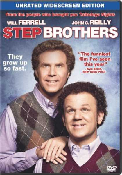 Bestselling Movies (2008) - Step Brothers (Single-Disc Unrated Edition) by Adam McKay