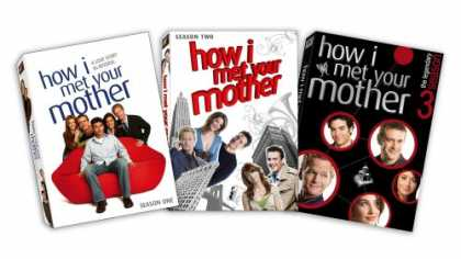 Bestselling Movies (2008) - How I Met Your Mother - Seasons 1-3