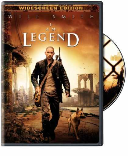 Bestselling Movies (2008) - I Am Legend (Widescreen Single-Disc Edition) by Francis Lawrence