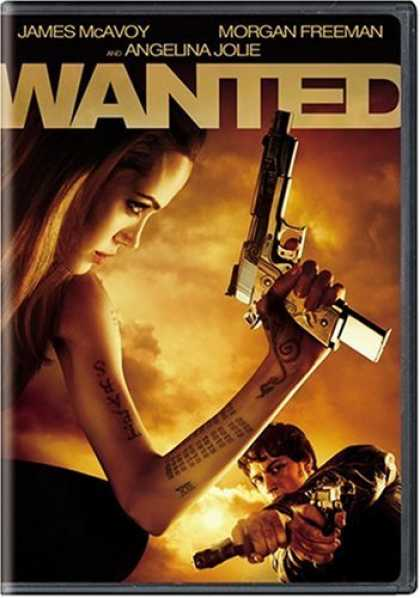 Bestselling Movies (2008) - Wanted (Single-Disc Widescreen Edition)