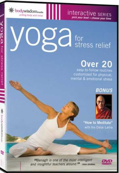 Bestselling Movies (2008) - Yoga for Stress Relief (With The Dalai Lama) by Michael Wohl